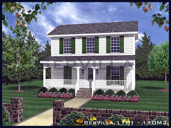 110 m2 Çelik Villa Modeli-1
