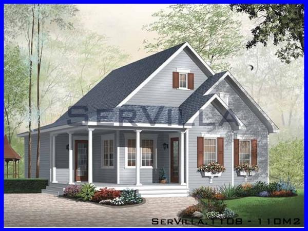 110 m2 Çelik Villa Modeli-8