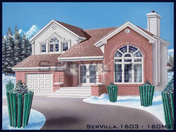 160 m2 Çelik Villa Modeli-3