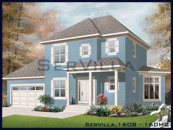 160 m2 Çelik Villa Modeli-8
