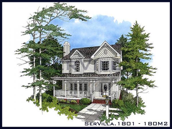 180 m2 Çelik Villa Modeli-1