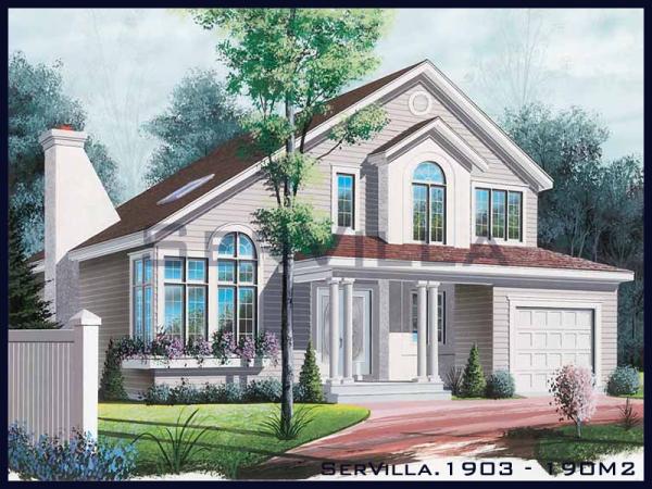 190 m2 Çelik Villa Modeli-3