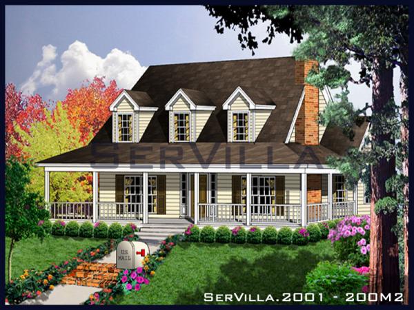 200 m2 Çelik Villa Modeli-1