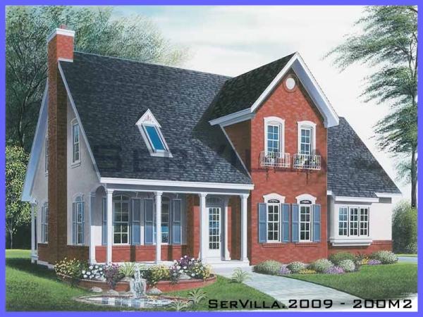 200 m2 Çelik Villa Modeli-9