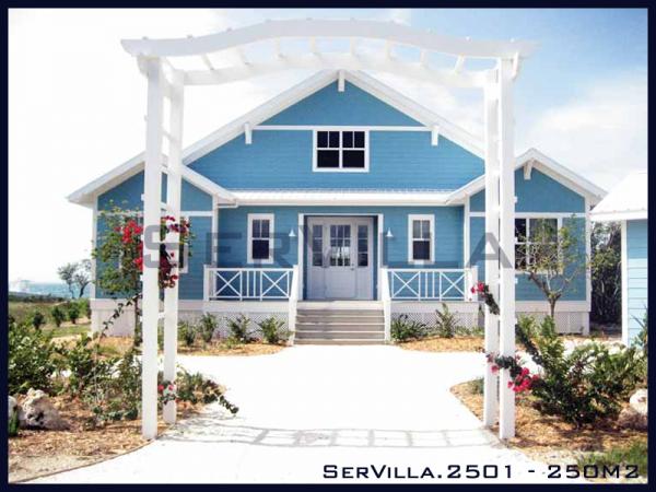 250 m2 Çelik Konstrüksiyon Villa Modeli-1