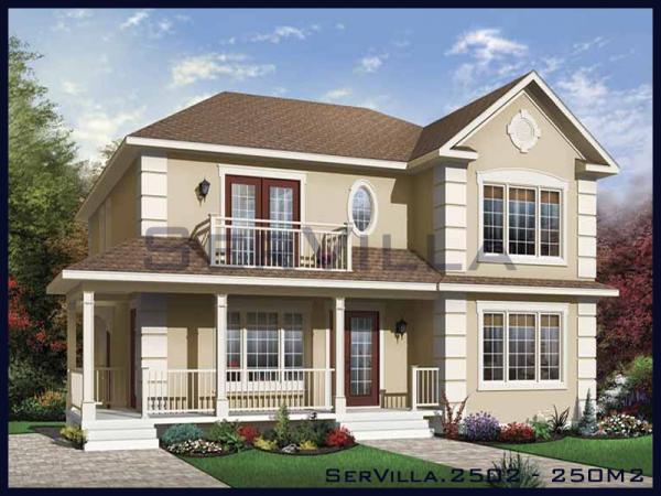250 m2 Çelik Konstrüksiyon Villa Modeli-2
