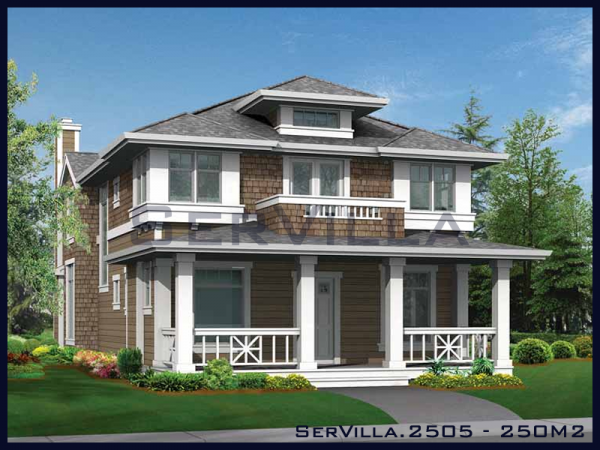 250 m2 Çelik Konstrüksiyon Villa Modeli-5