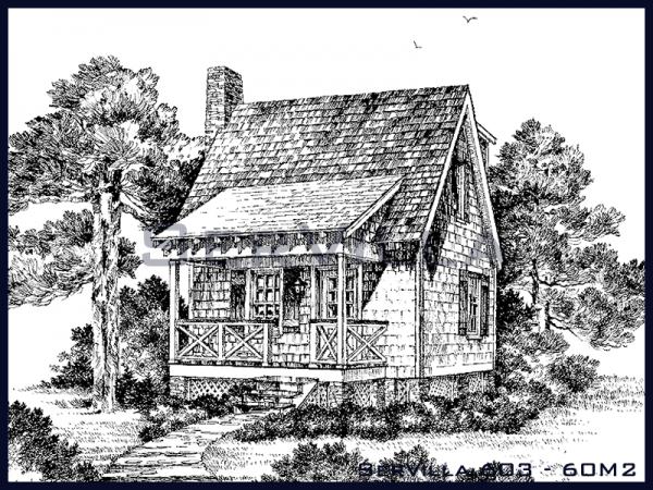60 m2 Amerikan Çelik Villa Modeli–3